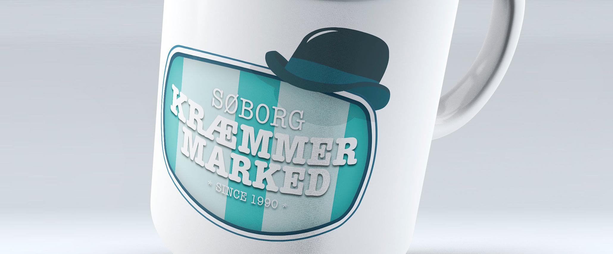 Søborg Kræmmermarked Logodesign - Design: Tegnestuen Undertryk