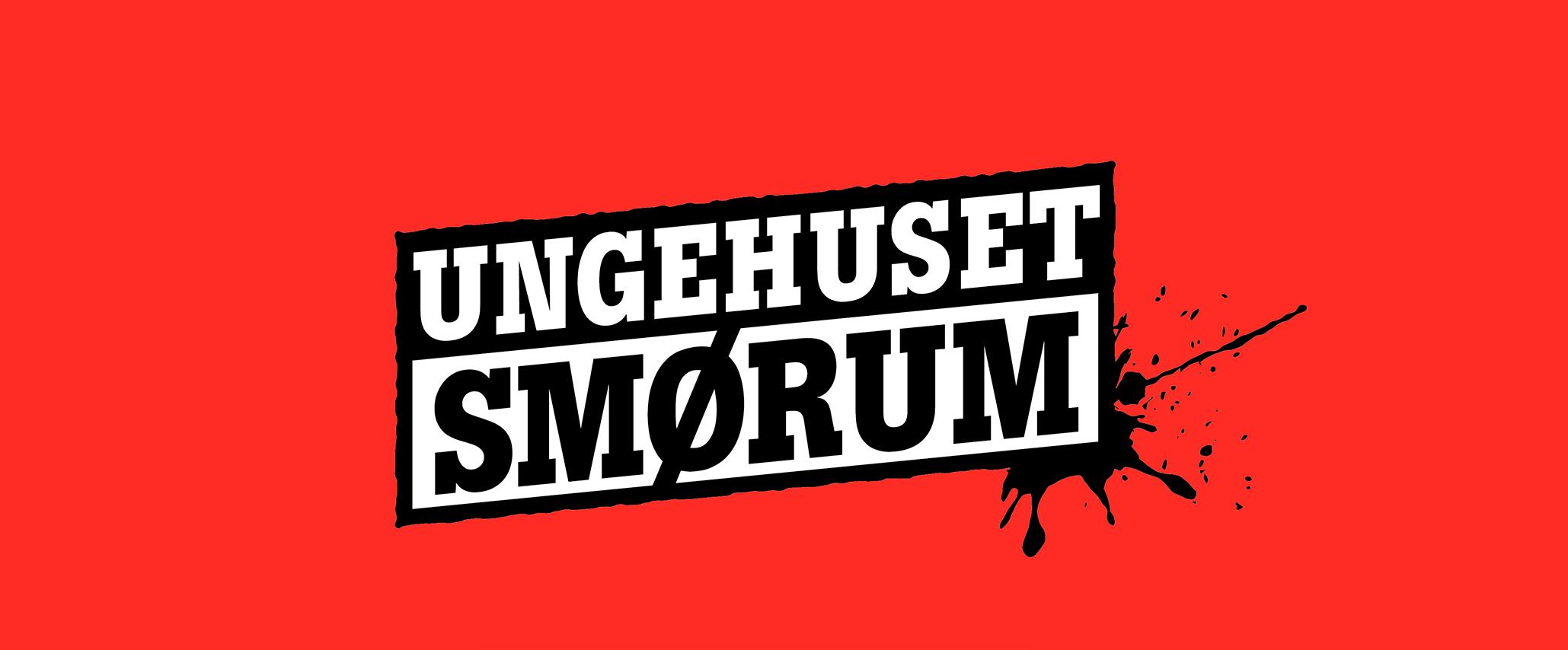 Ungehuset Smørum Logodesign - Design: Tegnestuen Undertryk