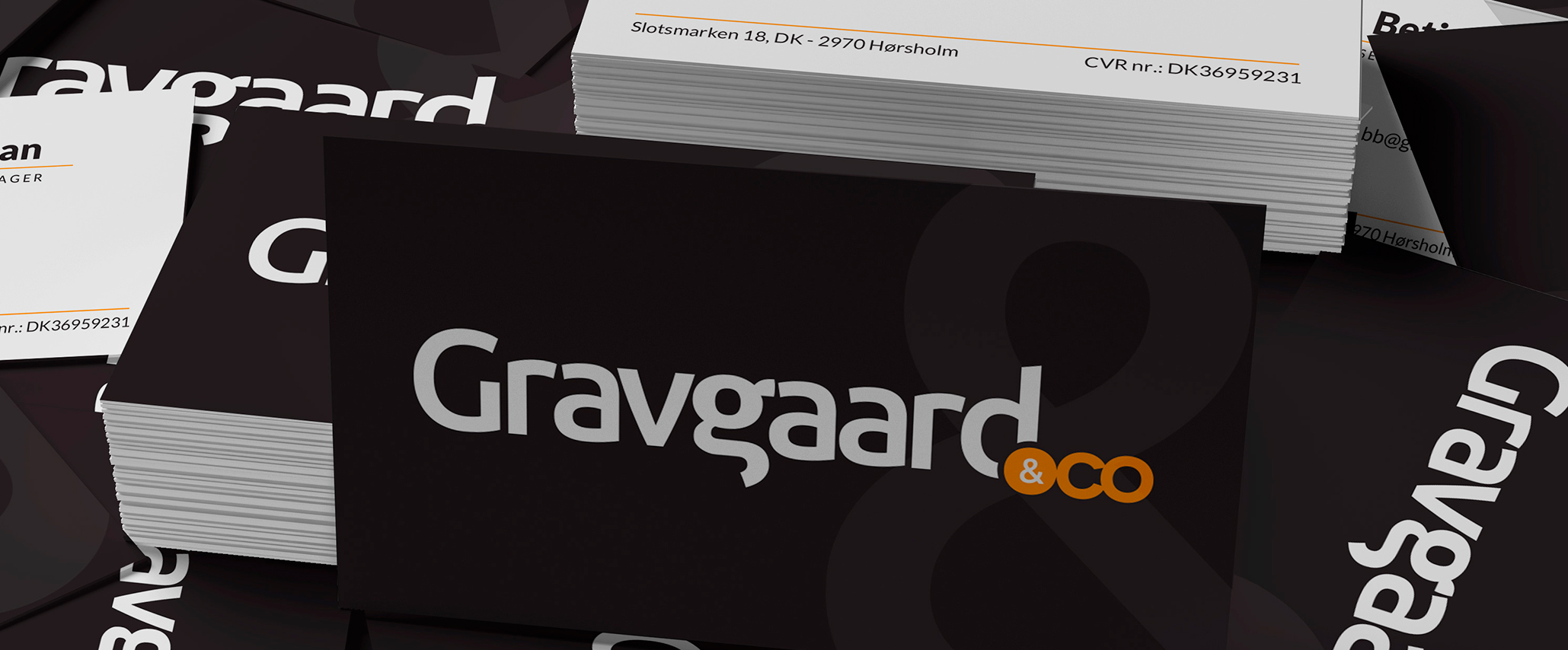 Gravgaard & co Logodesign - Design: Tegnestuen Undertryk