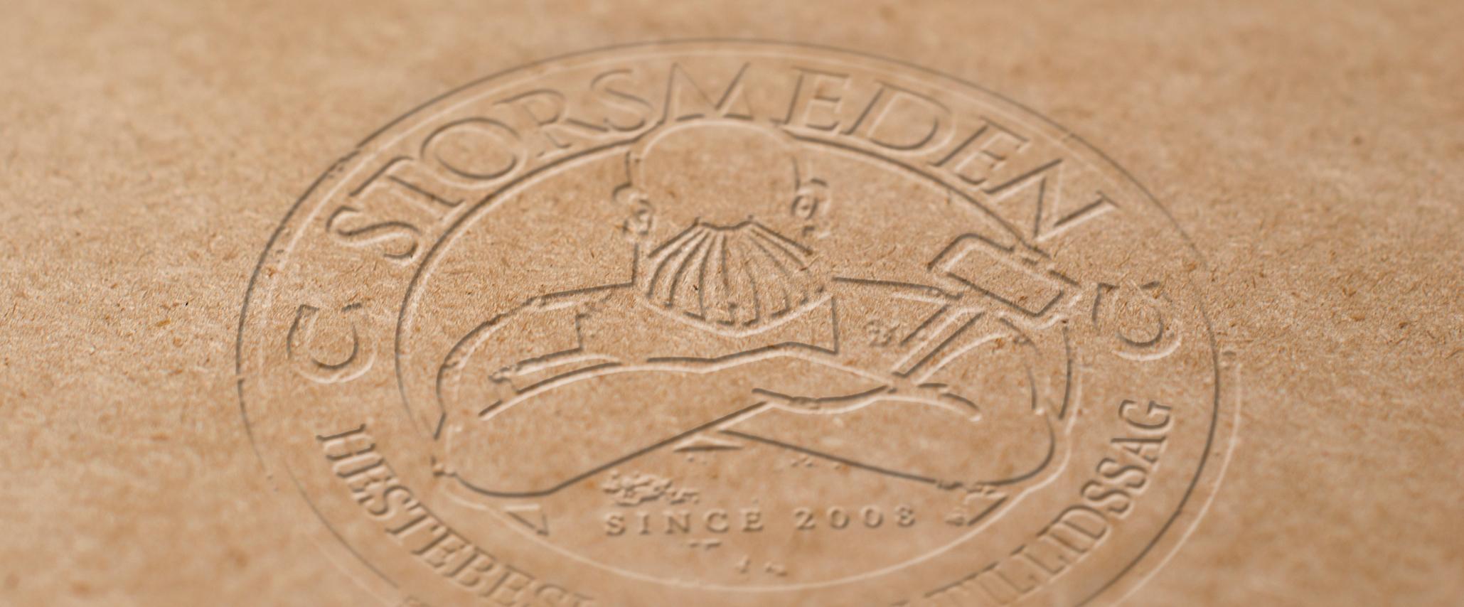 Storsmeden Logodesign - Design: Tegnestuen Undertryk