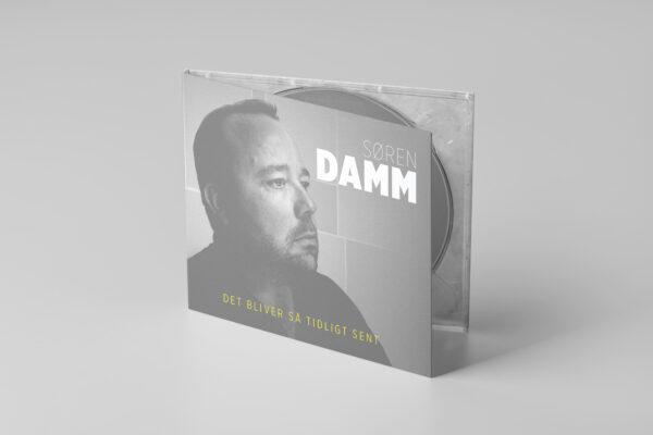 Mockup af CD Cover